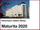 Maturita 2020