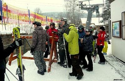 Lyžařský výcvikový kurz 2013