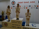 Daniela Skalková, žákyně sekundy, se kvalifikovala na mistrovství České republiky v judu